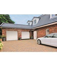 Porte de garage sectionnelle IsoMatic teinte blanche - 2375 x 2000