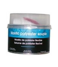 Mastic polyester souple 500gr - SUPERCLEAN