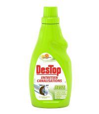 Destop entretien canalisations javel 4 en 1 750 ml