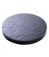 Roule pot D40cm aspect pierre ardoise - EDA