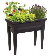 Espace potager Veg&Table™ City Anthracite 57L - EDA