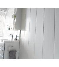 Lambris PVC Exapan Line 3000 blanc brut - GROSFILLEX