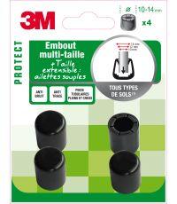 Embout multi-taille noir ∅10 à 14mm - 3M