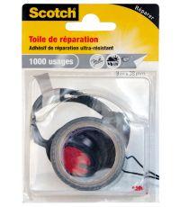 Toile adhésive de réparation grise 3mx38mm - Scotch