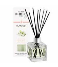 Bouquet parfumé cube Jasmin Précieux 125mL - LAMPE BERGER