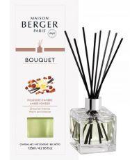 Bouquet parfumé cube Poussière d'Ambre 125mL - LAMPE BERGER
