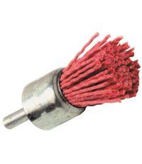 Brosse pinceau fil nylon rouge pour bois ø22mm
