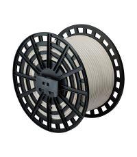 Touret câble souple H05VV-F 3G4mm² 100m blanc - DEBFLEX