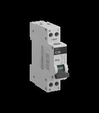 Disjoncteur phase + neutre 25 ampères blanc - DEBFLEX