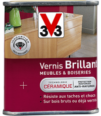 Vernis Meuble/Bois Brillant CHENE MO 0,25L