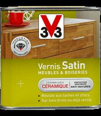 Vernis Meuble/Bois Satin GRIS FUME 0,25L