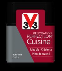 Peinture rénovation cuisine Perfection ardoise satin testeur 75ml - V33