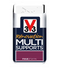 Testeur peinture Rénovation Multisupport figue satin 75 ml - V33