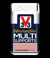 Testeur peinture Rénovation Multisupport rose bohême satin 75 ml - V33