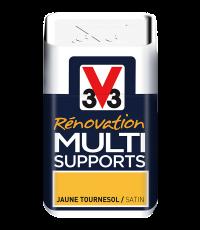 Testeur peinture Rénovation Multisupport tournesol satin 75 ml - V33