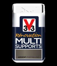 Testeur peinture Rénovation Multisupport argent satin 75 ml - V33