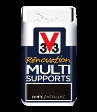 Testeur peinture Rénovation Multisupport fonte satin 75 ml - V33