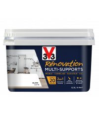 Peinture Rénovation Multisupport blanc satin 0,50 L - V33