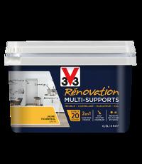 Peinture Rénovation Multisupport tournesol satin 0,5L - V33