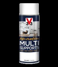 Peinture Rénovation Multisupport blanc satin 0,4L - V33