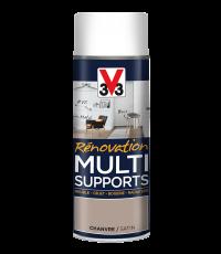 Peinture Rénovation Multisupport chanvre satin aérosol 400 ml - V33