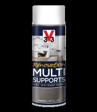 Peinture Rénovation Multisupport fonte satin aérosol 400 ml - V33