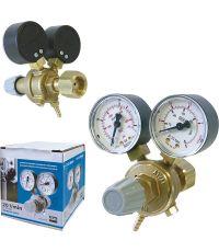 Manomètre/débitmètre 15 l/min - fr / de