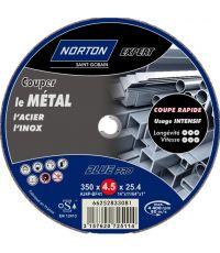 Disque à tronçonner expert blue pro metal 350x4,5x25,4 - NORTON