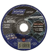 Disque à tronçonner métal/inox Ø 125 Ep. 3,2 - NORTON