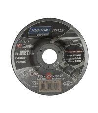 Disque multifonction pour tronçonneuse Ø115x22,23mm - NORTON