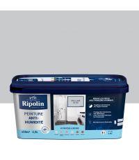 Peinture Anti-humidité multi-support 2,5L gris lomé - RIPOLIN