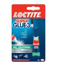 Super glue 3 Gel Progressive 3g - LOCTITE