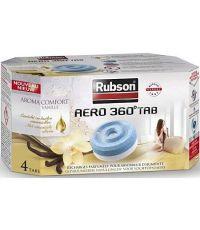 4 Sacs Recharges Absorbeur d'Humidité Aéro 360° Vanille - RUBSON