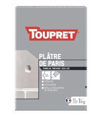 Plâtre Paris Poudre Blanc 1kg - TOUPRET