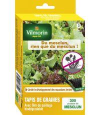 Tapis de graines de mesclun anti-mauvaises herbes - VILMORIN