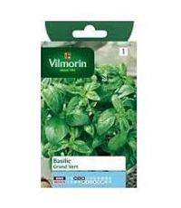 Graines Basilic Grand Vert - VILMORIN
