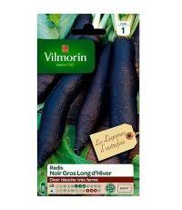 Graines Radis Noir Gros Long d'Hiver - VILMORIN