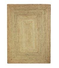 Tapis rectangulaire en jute naturel - 170 x 120