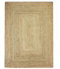 Tapis rectangulaire en jute naturel - 230 x 160 cm