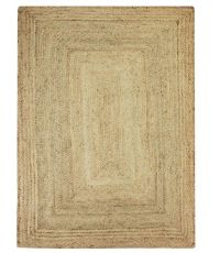 Tapis rectangulaire en jute naturel  190 x 290 cm