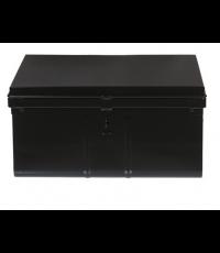 Coffre de rangement 60 litres en métal noir - SNOR PIERRE HENRY