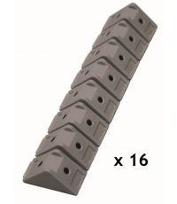 Taquets d'assemblage gris x 16 pièces - SPTD