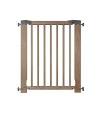 Barrière de sécurité enfant en bois naturel Opale 7 - SPTD