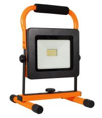 Projecteur LED de chantier 21W rechargeable - TIBELEC