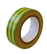 Ruban adhésif isolant vert/jaune - TIBELEC