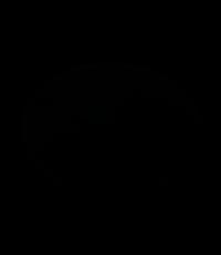 Variateur poussoir à pied 3-100w noir