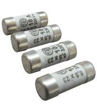 4 fusibles cylindre 8,5x23mm 10a. - TIBELEC
