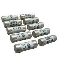 10 fusibles cylindre 8,5x23mm 10a. - TIBELEC
