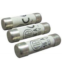 3 fusibles cylindre 8,5x31,5mm 10a. - TIBELEC