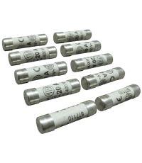 10 fusibles cylindre 8,5x31,5mm 20a.- TIBELEC